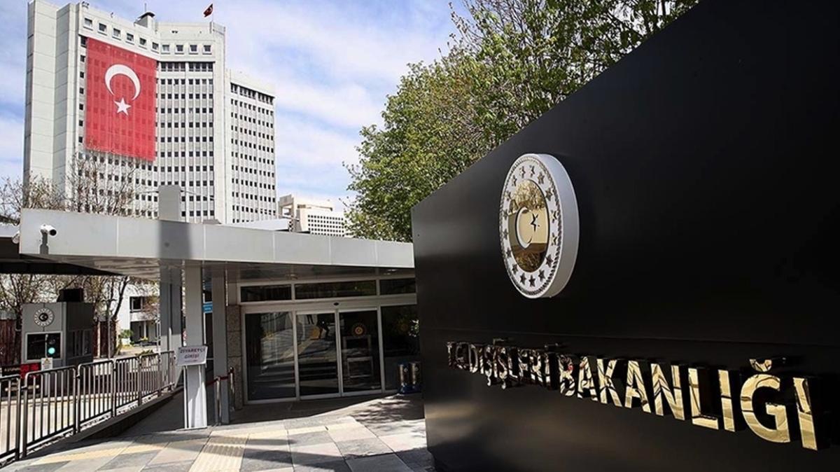 Dışişleri'nden Kıbrıs'ta konuşlu BM Barış Gücü Misyonu'nun görev süresinin uzatılmasına ilişkin açıklama