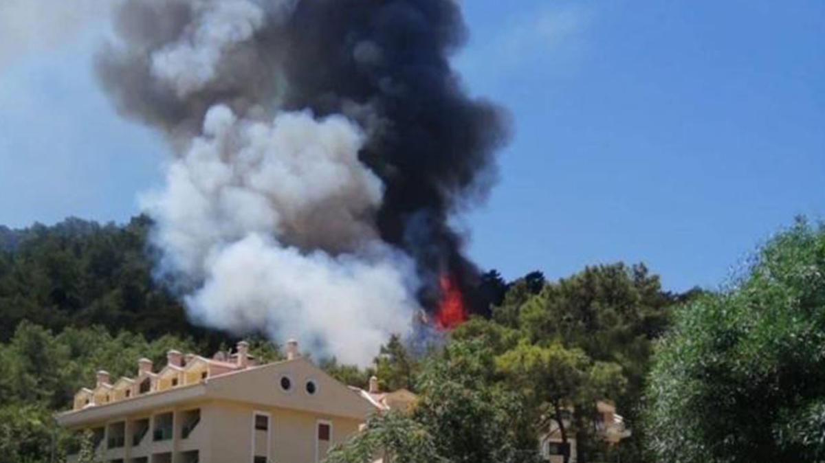 """Marmaris yangın son dakika haberleri! Marmaris yangını nerede"""""""