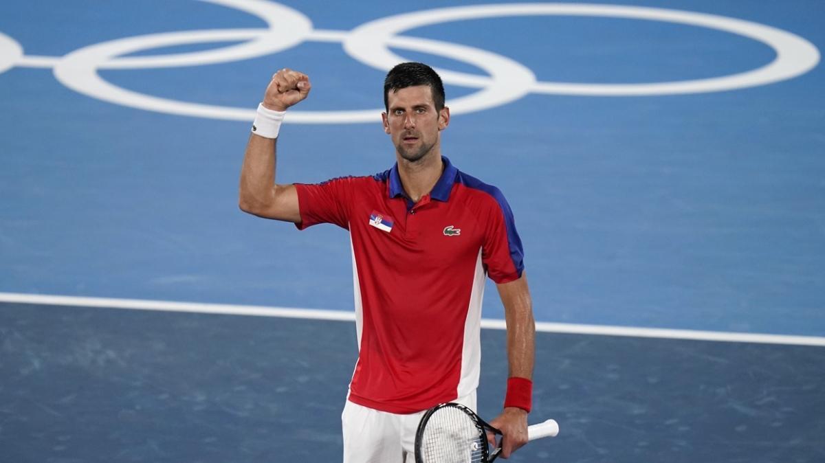 Tokyo 2020 tenis tek erkeklerde 3 yarı finalist belli oldu