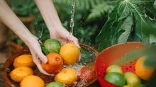 Meyve ve sebze yıkama tekniği