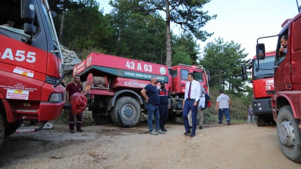 İletişim Başkanı Altun verileri paylaştı... Yangınlara müdahalede kullanılan araçlar