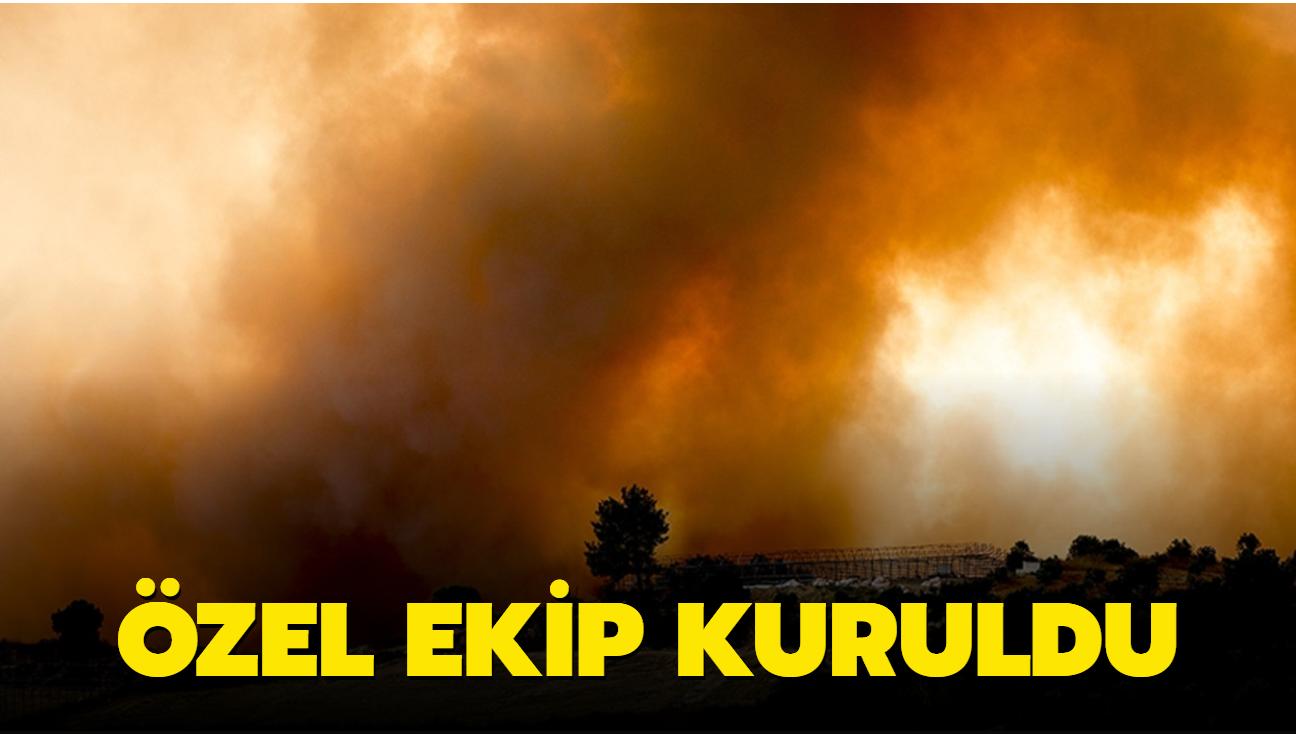 Son dakika haberi: Yangınların sebebini araştırmak için özel ekip kuruldu