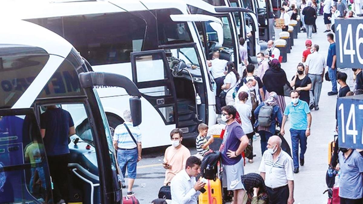 Bayramda 12 milyon biletli yolcu seyahat etti