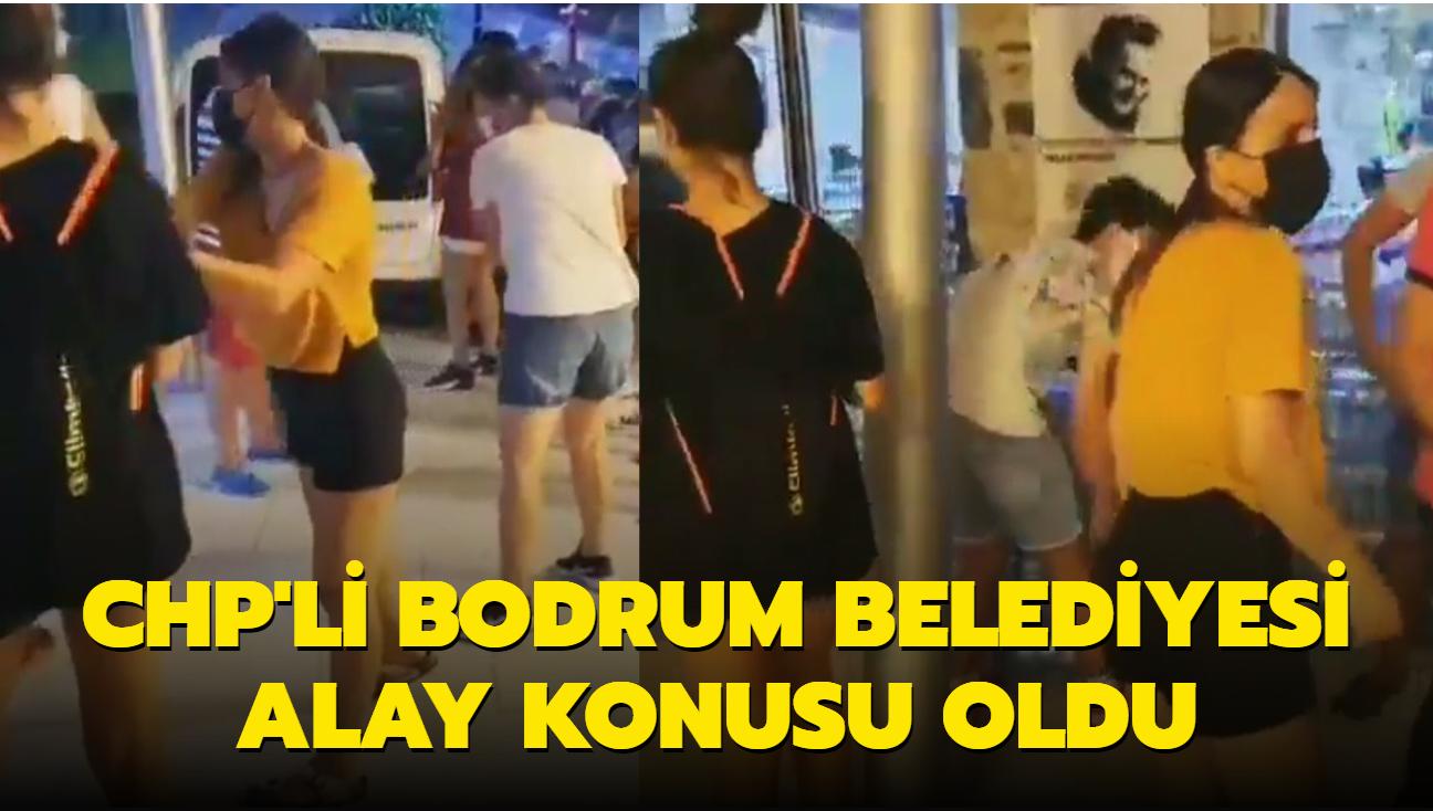 CHP'li Bodrum Belediyesi alay konusu oldu