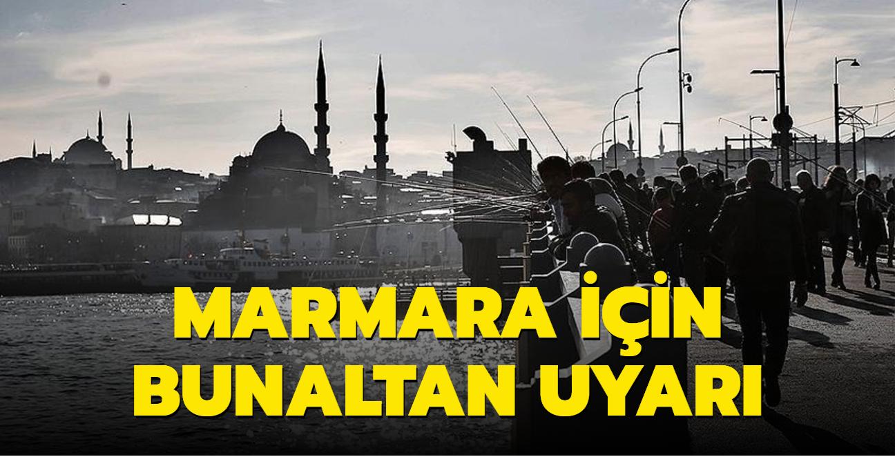 Meteorolojiden Marmara için bunaltan uyarı