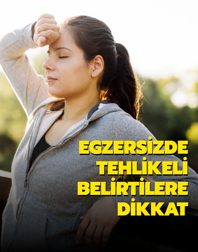 Egzersiz yaparken baş dönmesi tehlikeli olabilir