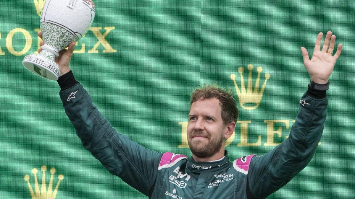Aston Martin pilotu Sebastian Vettel diskalifiye edildi