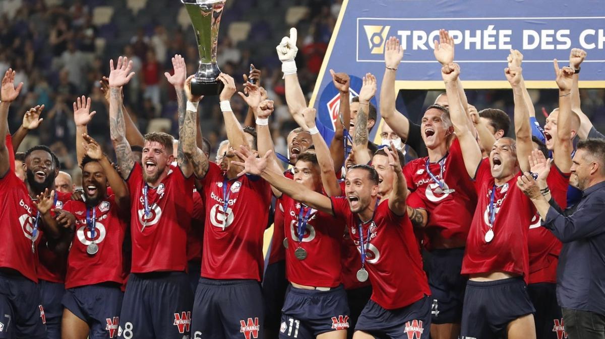 Lille, PSG'nin elinden Süper Kupa'yı da aldı