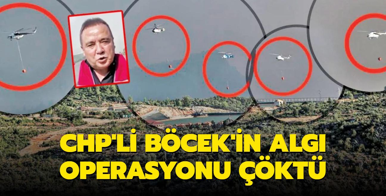 CHP'li Böcek'in algı operasyonu çöktü! Tek karede 5 helikopter