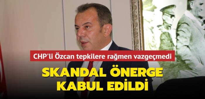 CHP'li Tanju Özcan'ın ırkçı önergesi CHP ve İYİ Parti'nin oylarıyla kabul edildi