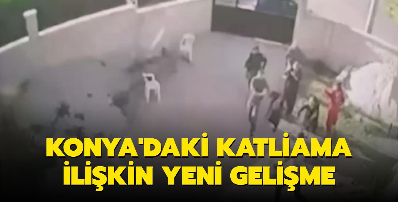 Konya'daki katliama ilişkin yeni gelişme