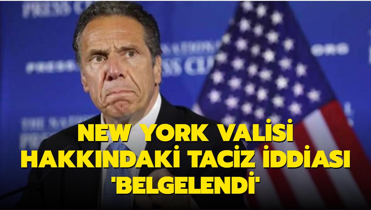 Rapor: New York Valisi hakkındaki taciz iddiaları tespit edildi