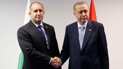 Başkan Erdoğan, Bulgar mevkidaşıyla görüştü