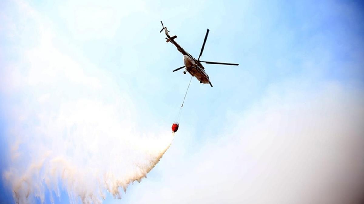İspanya'nın Türkiye'ye gönderdiği yangın söndürme uçakları Muğla'ya ulaştı