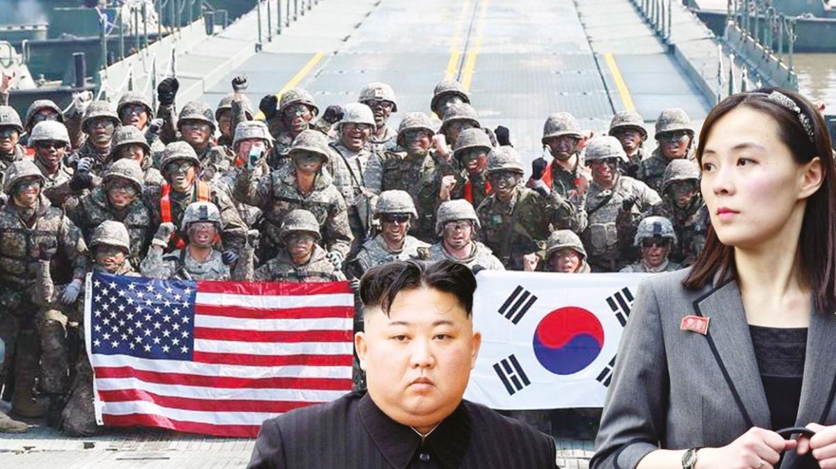 Kız kardeş Kim'den G.Kore'ye gözdağı