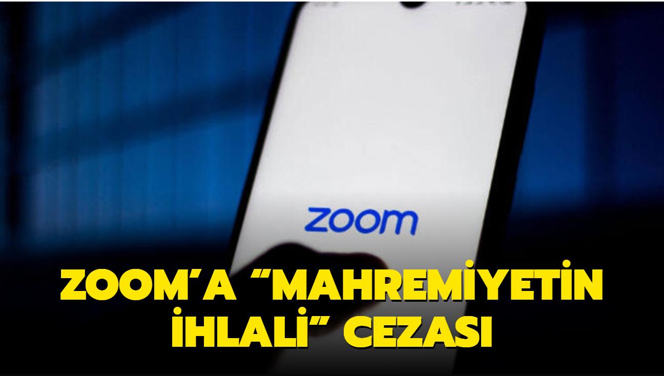 """Zoom'a """"Mahremiyetin ihlali"""" cezası: 86 milyon dolar ödeyecek"""