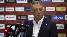 Beşiktaş'ta Başkan Çebi'den taraftara mesaj