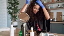 Evde saç boyarken iki kere düşünün