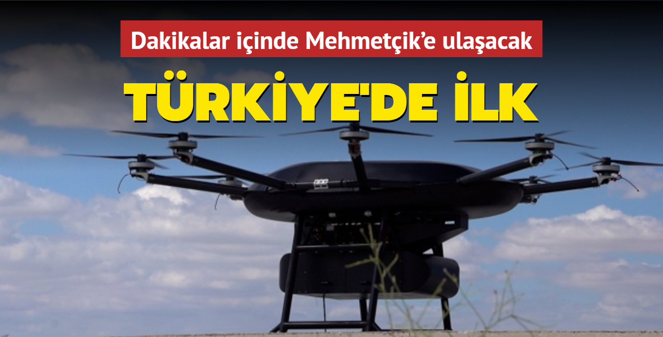 Türkiye bir ilke imza attı! Dakikalar içinde Mehmetçik'e ulaşacak
