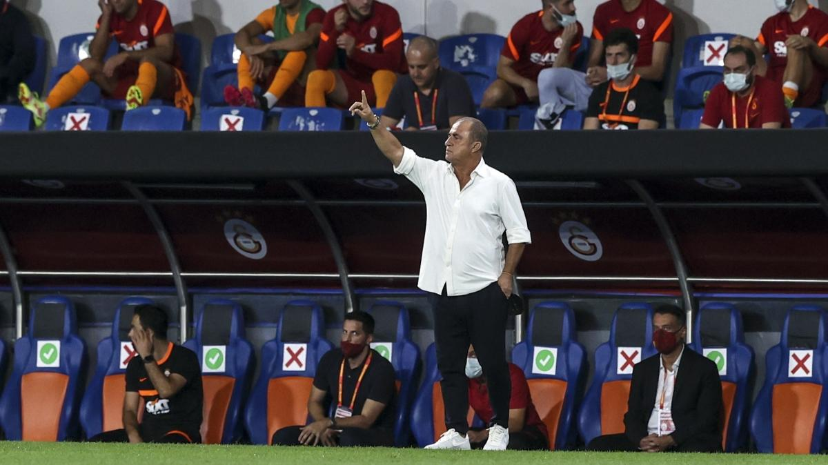 Galatasaray Teknik Direktörü Fatih Terim: İki metreden, beş metreden atacaksın bu golleri