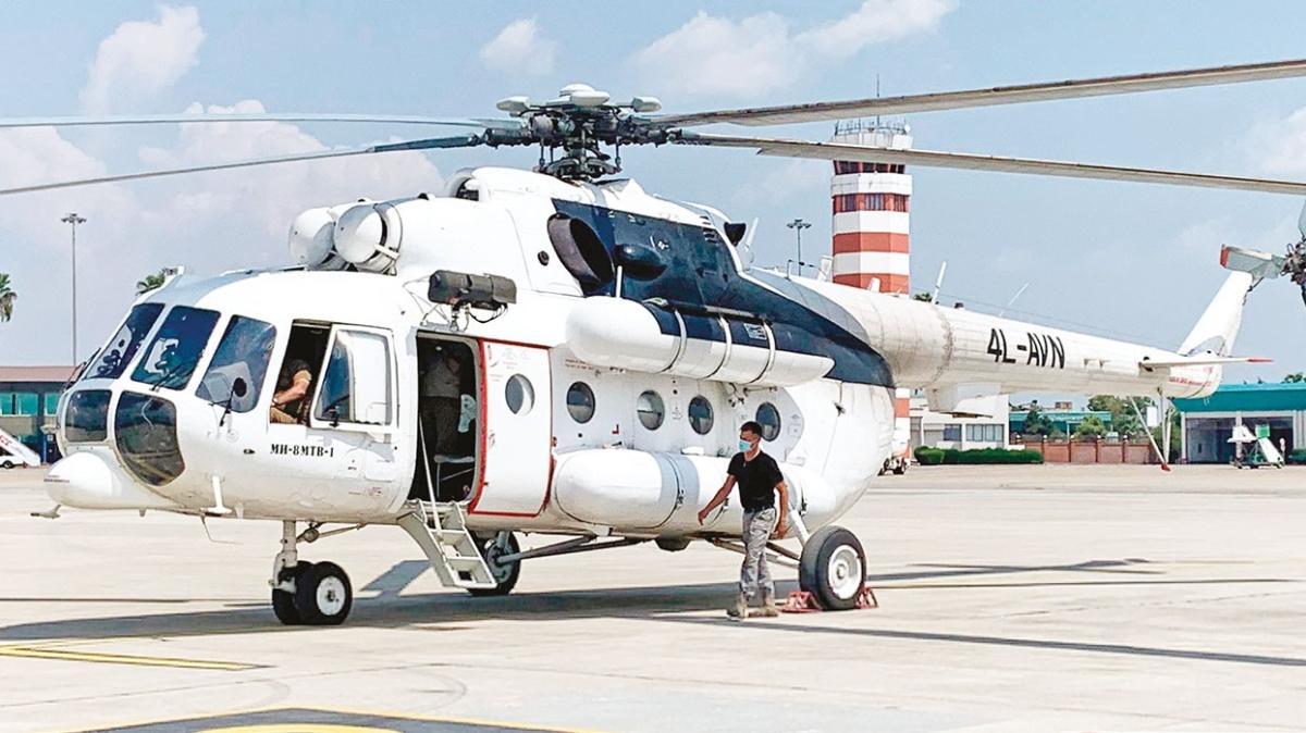 THY, yangınlar için iki helikopter kiraladı