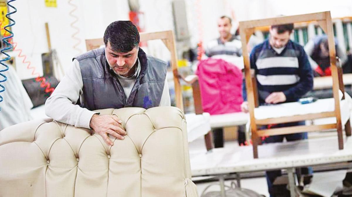 Katar'a rekor mobilya ihracatı