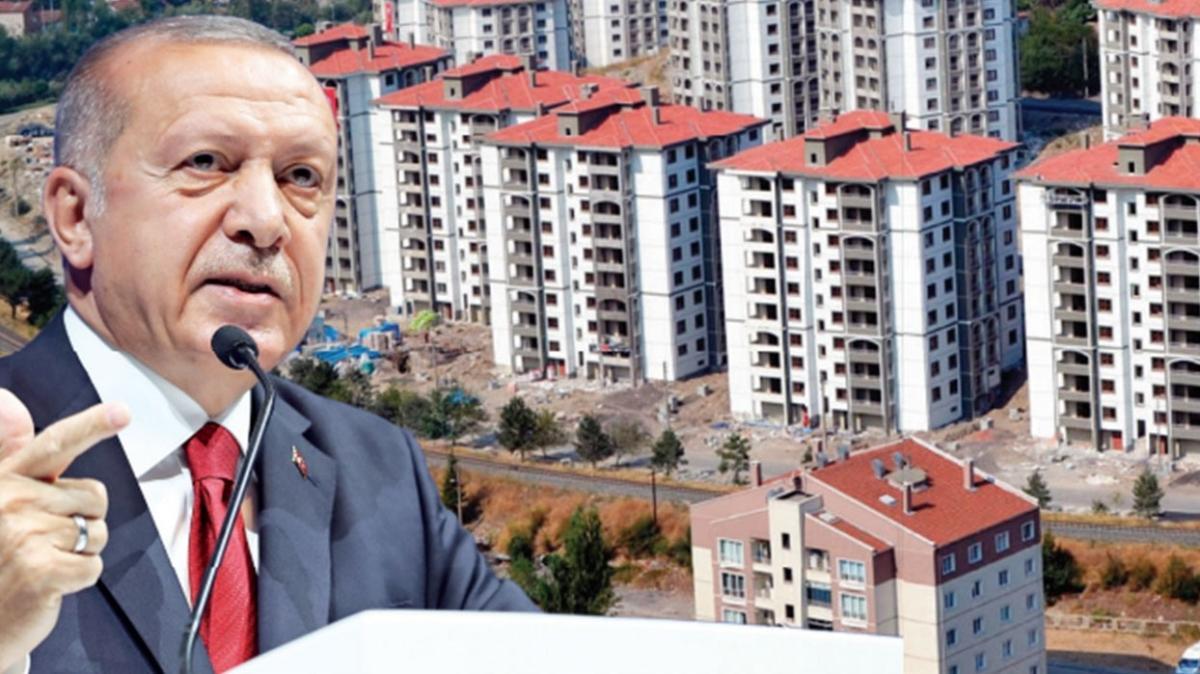 Başkan Erdoğan: 2.5 milyon konutun dönüşümü tamam