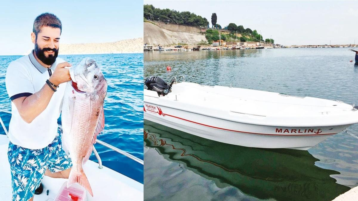 Burak Özçivit balıkçı teknesi aldı