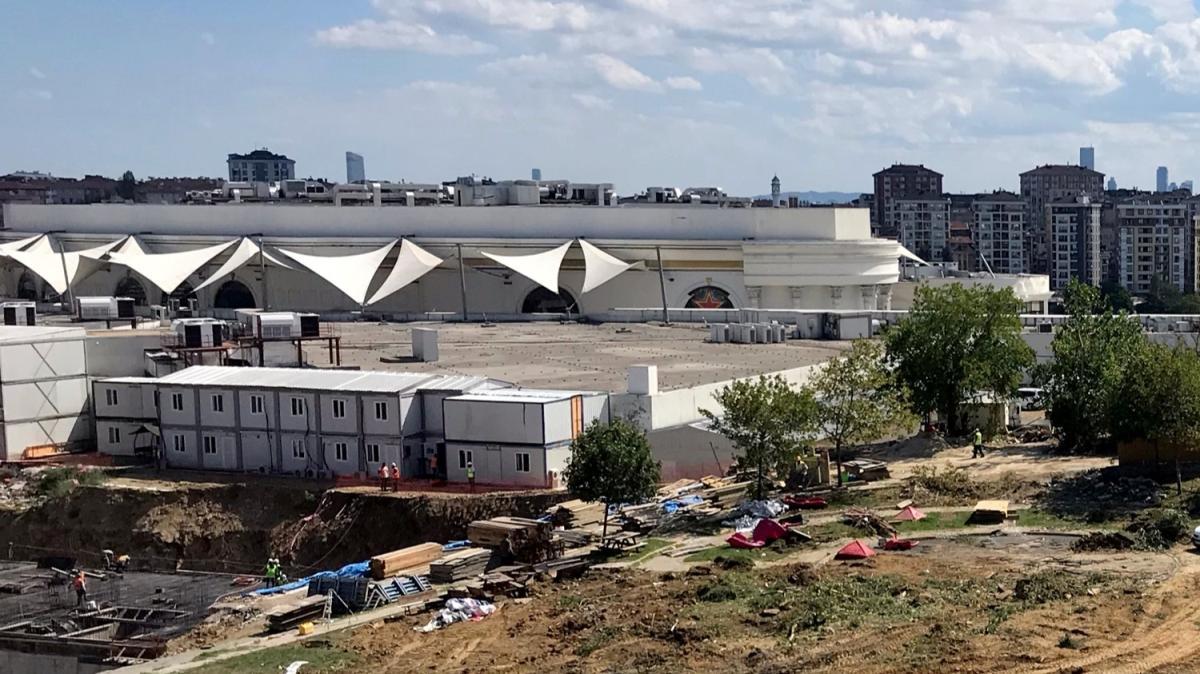 İBB'den mahkeme kararına rağmen parka kepçe