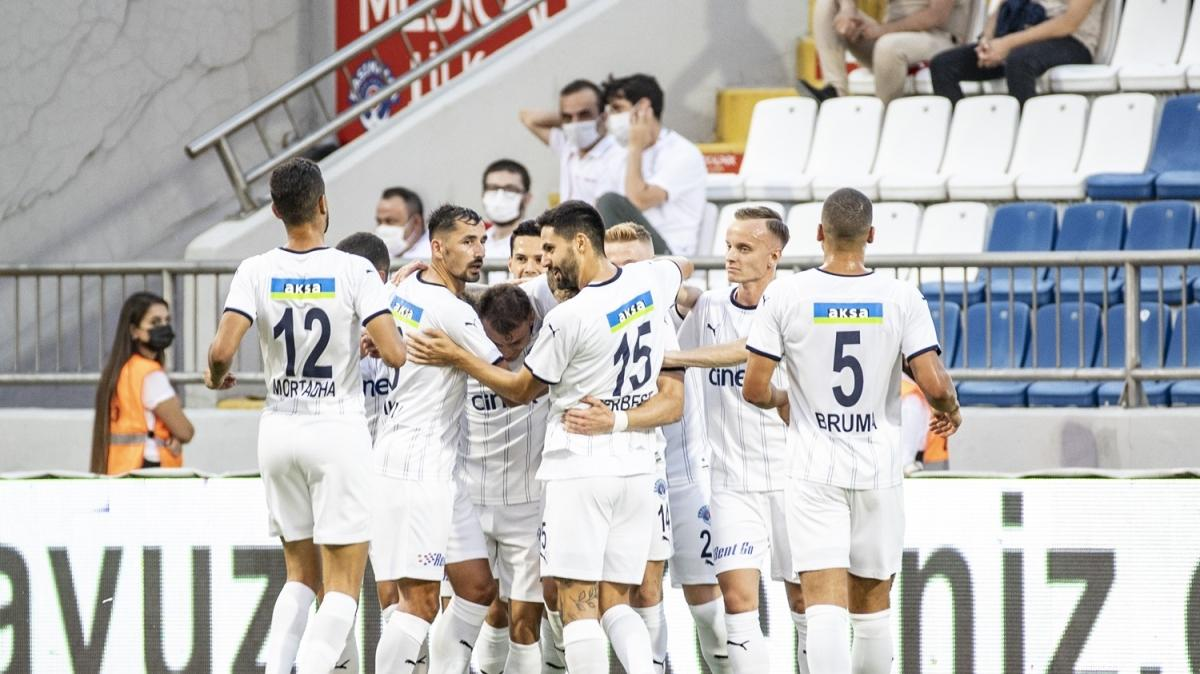 Kasımpaşa, Giresunspor'u 2 golle geçti