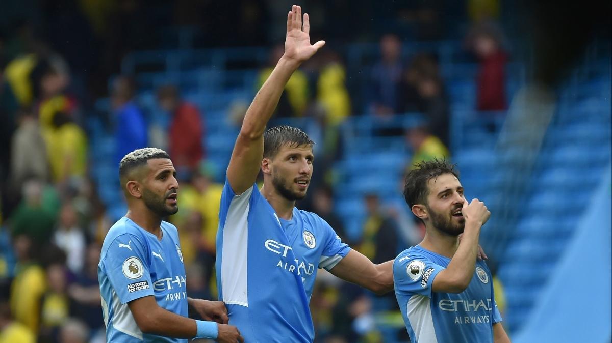 Manchester City'den gol şov!
