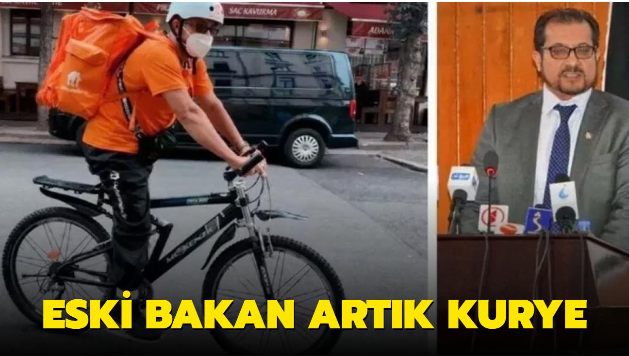 Afganistan'da iletişim bakanıydı, Almanya'da bisikletli kurye oldu