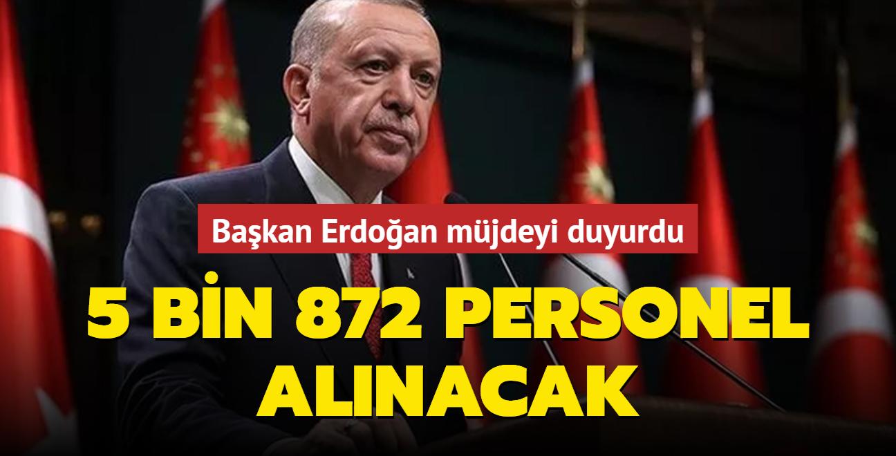Başkan Erdoğan: Pansiyonlarda kalan öğrencilerimizin için personel sayısını artırma kararı aldık