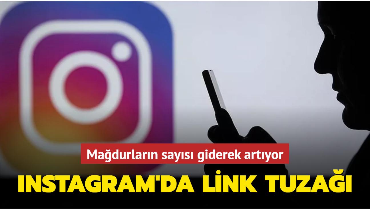 Instagram'da link tuzağı