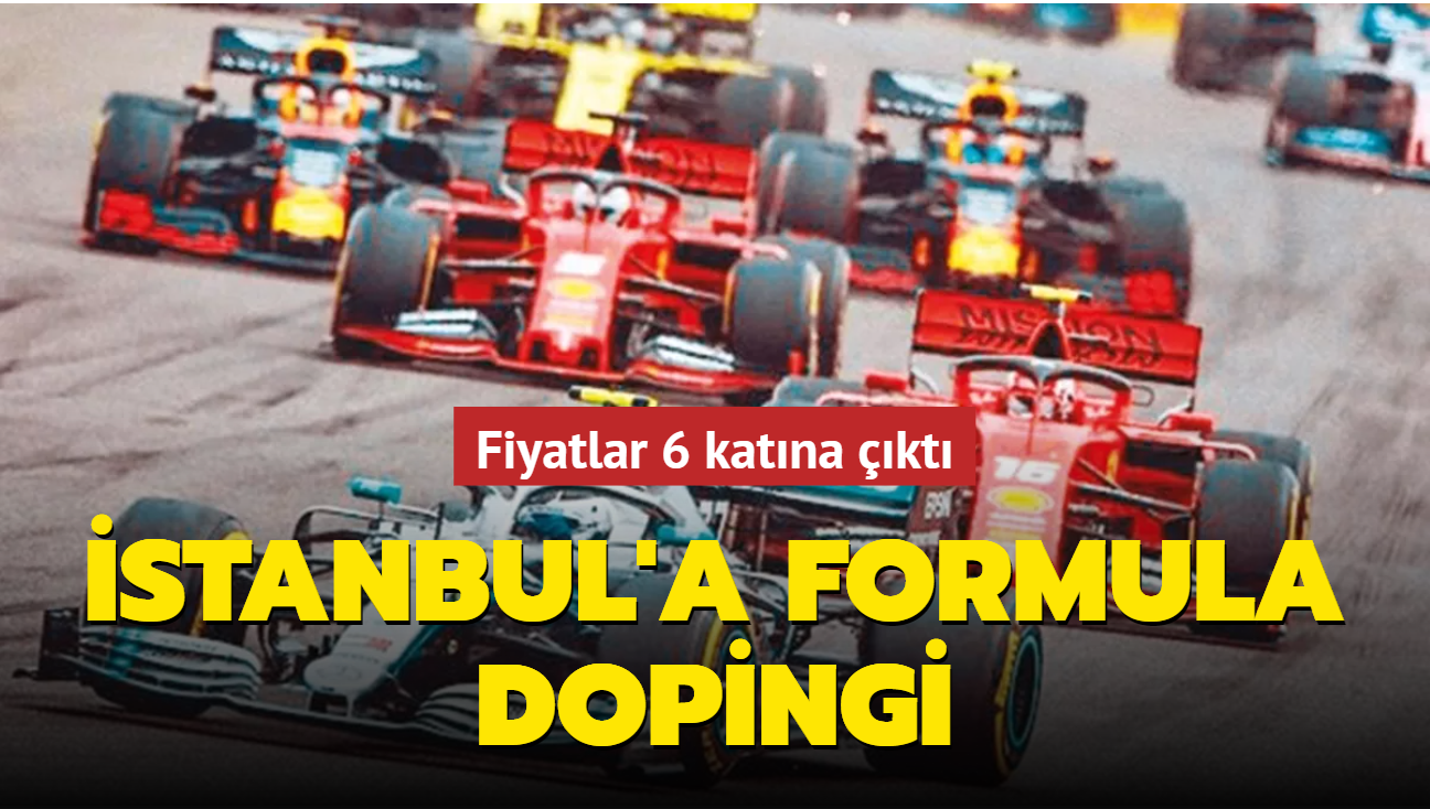 Şehir otellerine Formula dopingi... Fiyatlar 6 katına çıktı