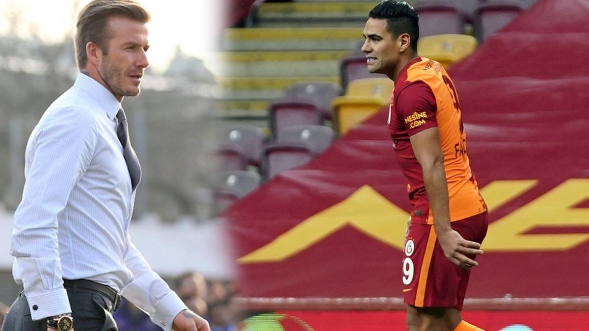 David Beckham, Radamel Falcao için her şeyi düşünmüş! Konağı bile hazır...