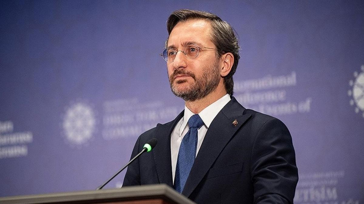 İletişim Başkanı Altun'dan Fatih sondaj gemisi paylaşımı