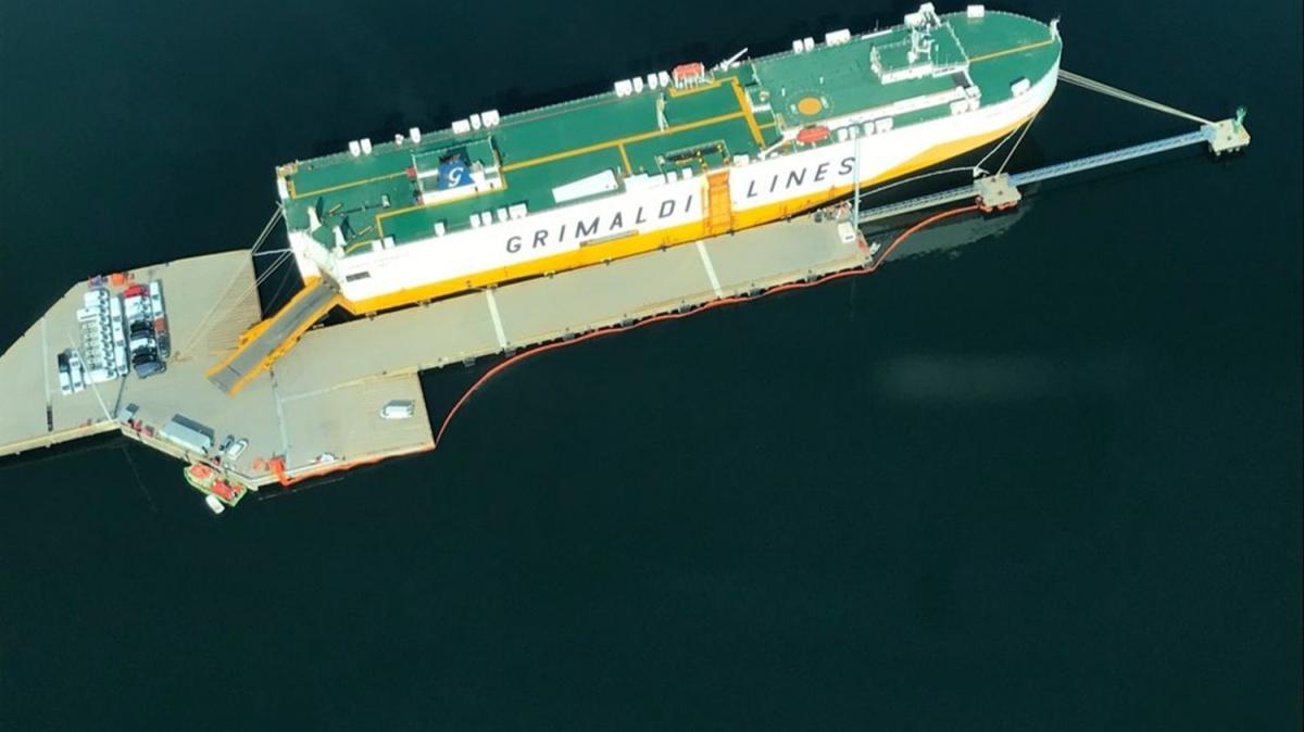 İzmit Körfezini kirleten gemiye ceza
