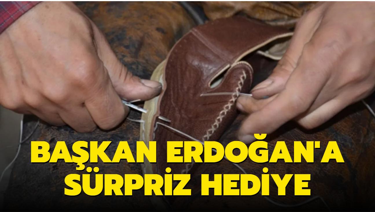 """""""Yemeni sanatçısı"""" hazırladığı özel yemeniyi Başkan Erdoğan'a hediye etmek istiyor"""