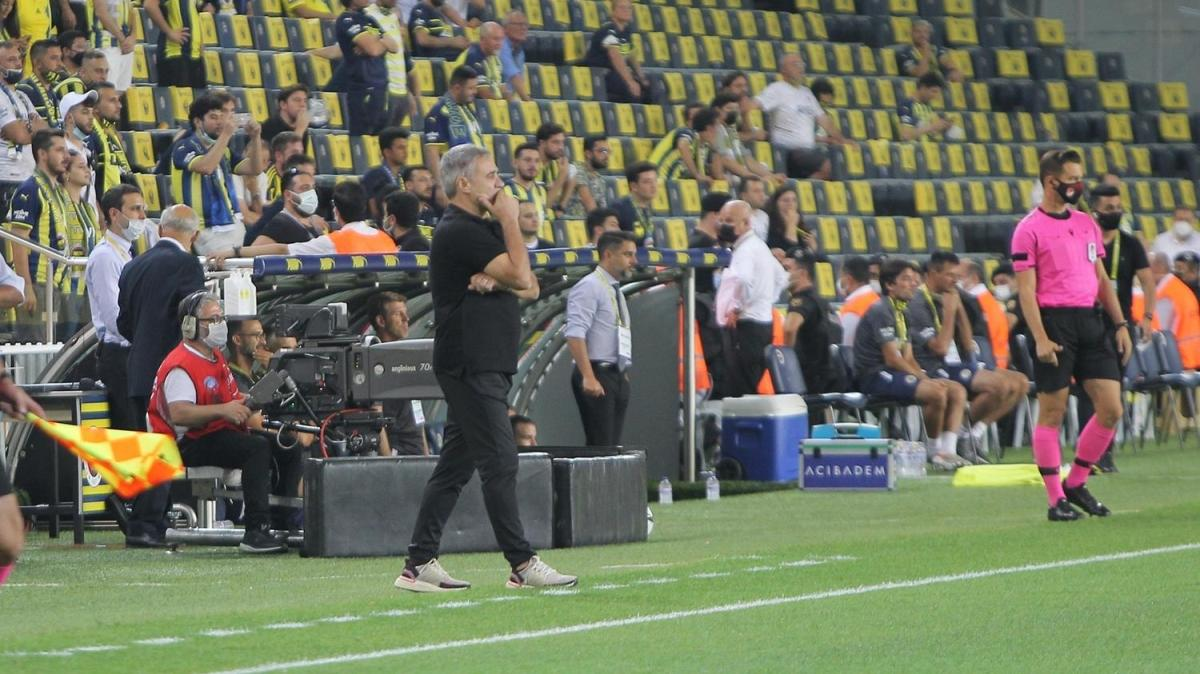 Ersun Yanal'dan Fenerbahçe maçı sonrası tepki: Herkese eşit olsun