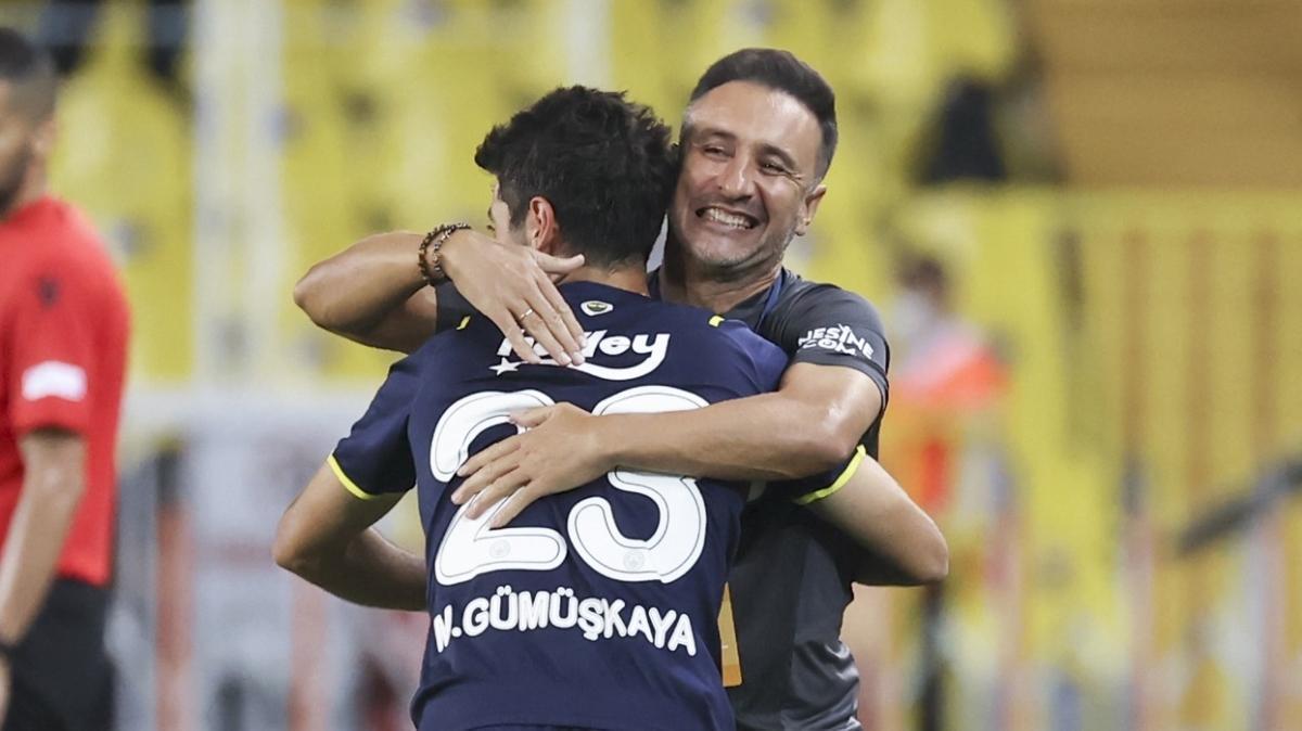 Fenerbahçe Vitor Pereira'nın hamleleriyle kazanıyor