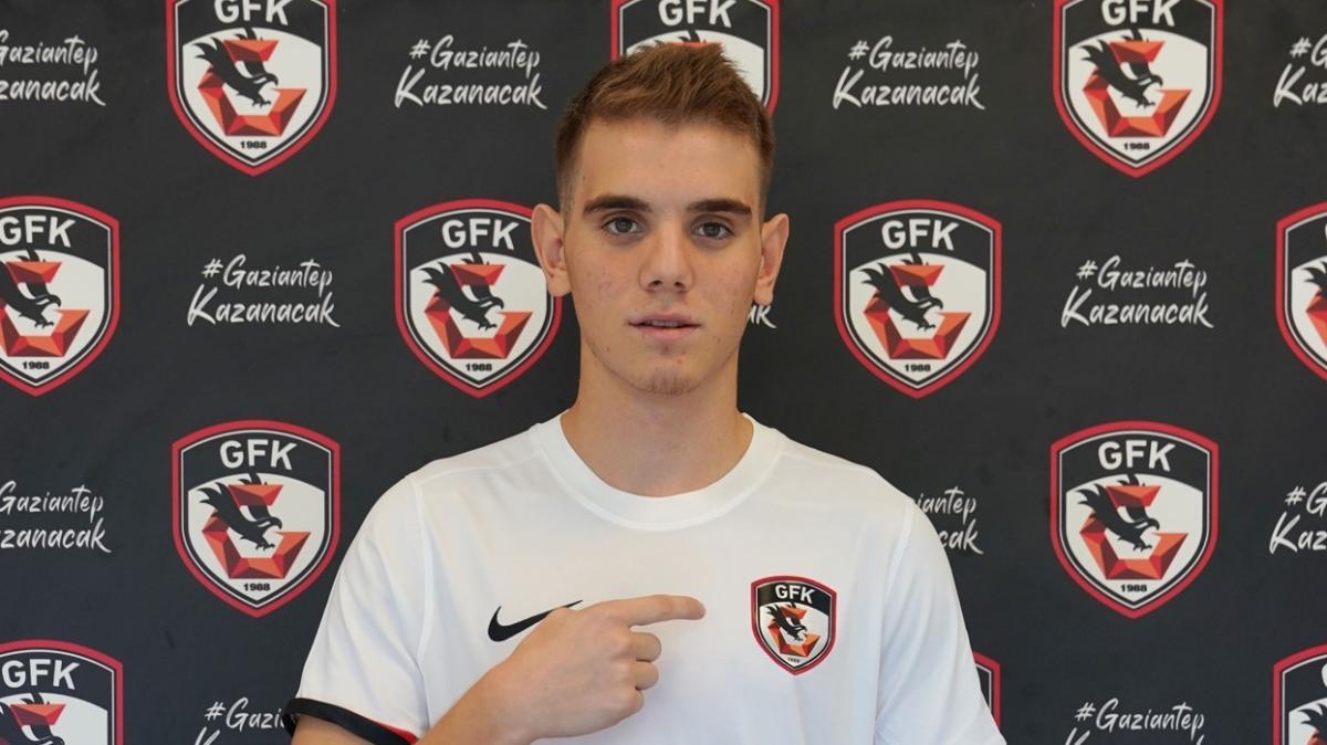 Gaziantep FK, Berke Gürbüz'ü 5 yıllığına transfer etti