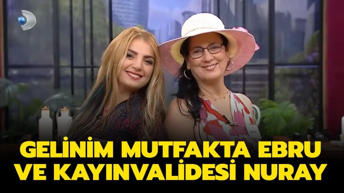 """Gelinim Mutfakta Ebru Karabacak kaç yaşında, nereli"""" Gelinim Mutfakta Ebru ve kayınvalidesi Nuray kimdir"""""""