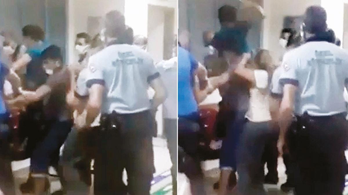 Hemşireye 'Çocuğun kolunu acıttın' şiddeti