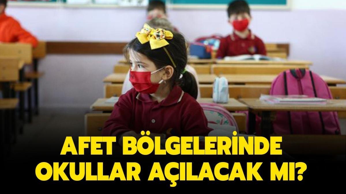 """Okullar ne zaman açılacak"""" Kastamonu, Sinop ve Bartın'da okullar açılacak mı"""""""