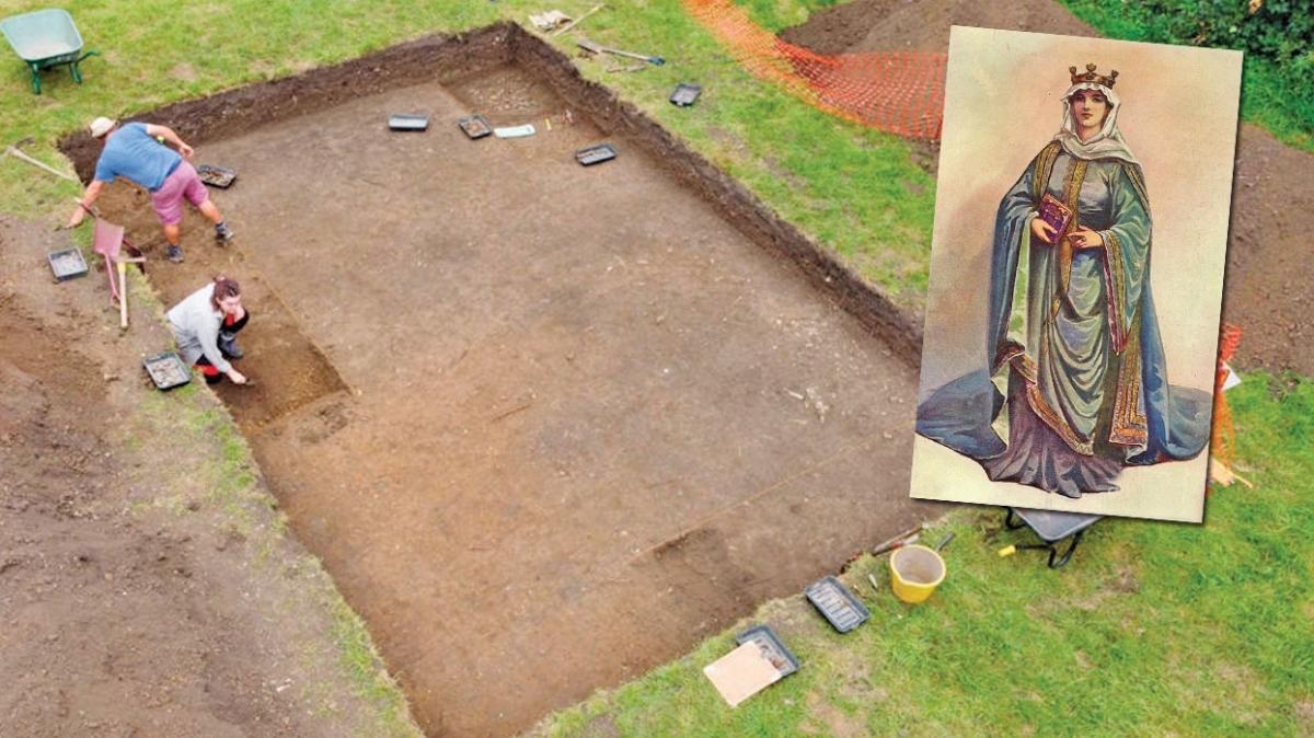 Ortaçağ'ın güçlü kraliçesi Cynethryth'in mezarı