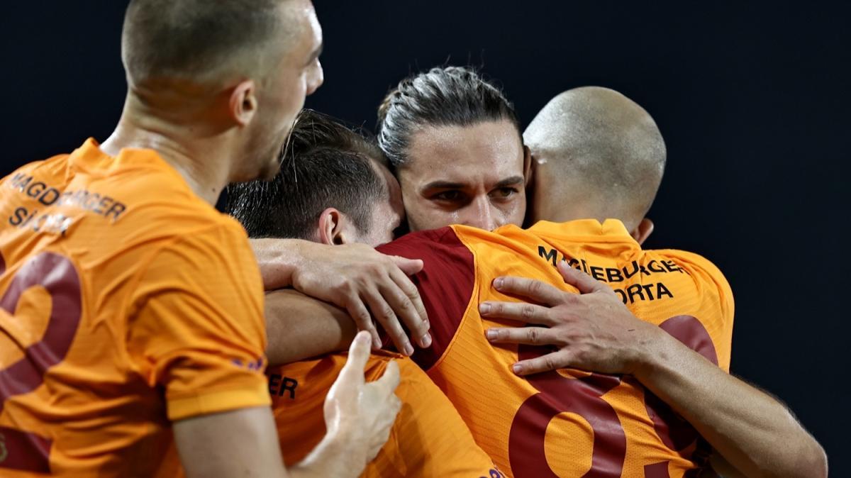 Galatasaray son nefeste kazandı! 2-1