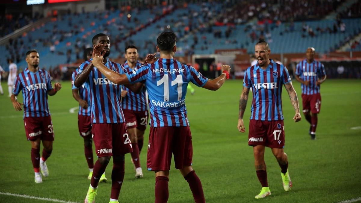 Trabzonspor 2'de 2 yaptı! 2-1