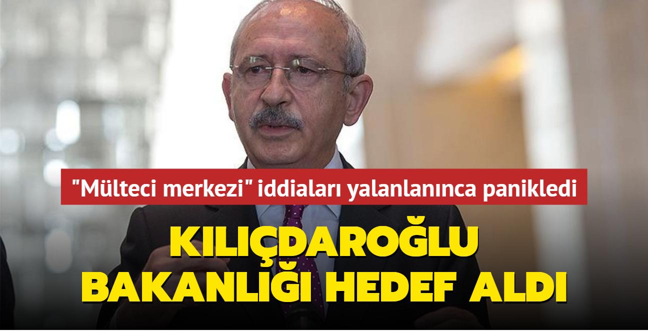 """""""Türkiye mülteci merkezi olacak"""" iddiaları yalanlanınca panikledi... Kılıçdaroğlu bakanlığı hedef aldı"""
