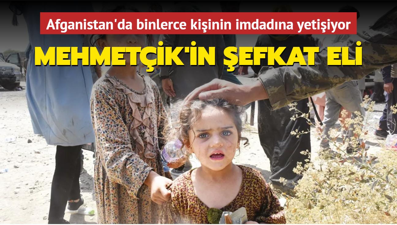 Mehmetçik'in şefkati